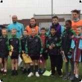 Primary Free School pupils meet their idols at West Ham United!...