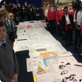 Primary Free School pupils trailblazing their way through the GLC...