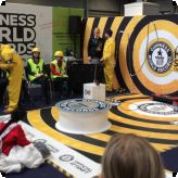 Pupils visit the Big Bang Festival...