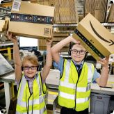 Amazing tours at Amazon for Primary Free School pupils...