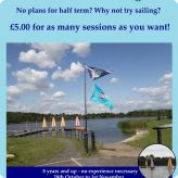 Thurrock Sail has Half Term activities planned