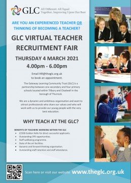 GLC Virtual Teacher Recruitment Fair