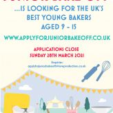 You can apply for Junior Bake Off